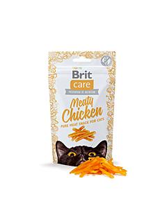 Brit Care Cat Snack Meaty Pollo maius kanaga / 50g