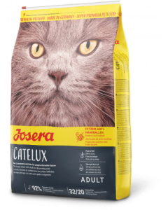 Josera Catelux kuivtoit pikakarvalistele kassidele / 10kg