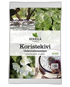 Kekkilä dekoratiivkivi Gabro valge / 25kg