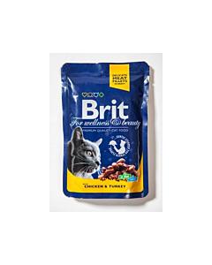 Brit Care einekotike kassile Kana&Kalkun tarrendis / 100g