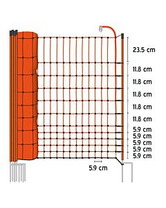 Elektrivõrk kodulindudele, 112cm/50m