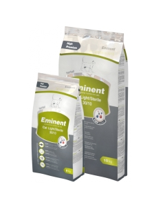 Eminent Cat Light/Sterile 30/10, ülekaalulistele ja kastreeritud kassidele / 10kg
