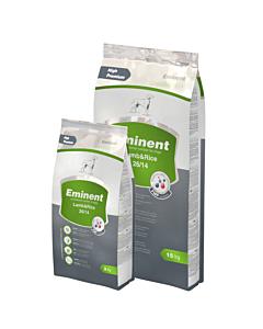 Eminent Lamb & Rice 26/14, linnuliha- ja nisugluteenivaba koeratoit / 3kg