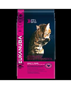 Kassitoit Eukanuba Adult Overweigh/Sterilized cats / 400 g