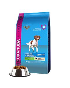 Eukanuba - Mature&Senior All Breeds Lamb & Rice для пожилых собак всех пород с ягненком и рисом