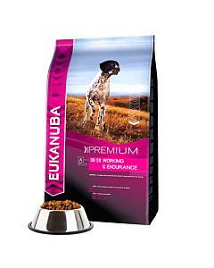 Eukanuba - Performance Working & Endurance - для взрослых собак, подвергающихся длительным физическим нагрузкам