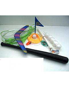 Golf, pesapall, bumerang