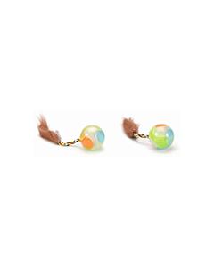 Beeztees kassi mänguasi pall, helendav / 4,5X18cm