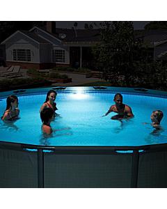 Hüdroenergiaga töötav LED-taustvalgusti basseinidele Intex