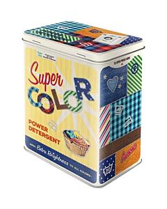 Metallpurk / L / Super Color Detergent / LM