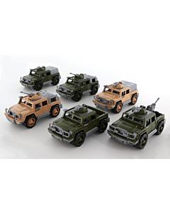 Polesie Jeep Military / 30cm
