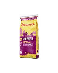 Josera koeratoit Miniwell  väikestele koeratõugudele / 15kg