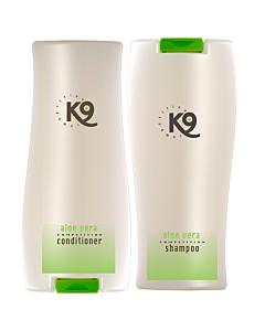 K9 Competition aloe vera shampoon ja palsam