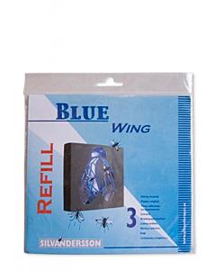 Kärbselamp Wing Silva liimplaadid / 3tk.pakis