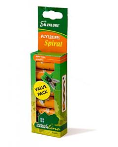 Kärbsepaber rullis Spiral 6tk/pakis
