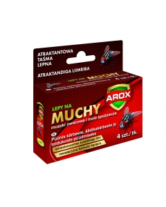 Kärbsepaber rullis Arox 4 tk/pakis