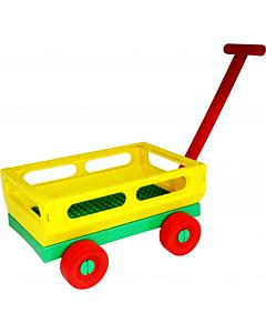 Детская садовая тележка