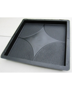 Plastvorm Plaat (kaarjas nelinurk) / 30,0x30,0x3,0cm