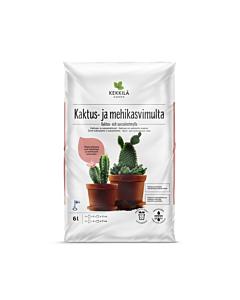 Kekkilä kaktuse- ja sukulendimuld / 6L
