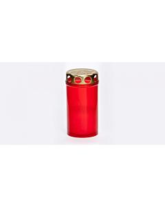 Могильная свеча без крышки Bolsius / 90x55 mm / белая