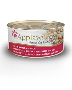 Applaws kassi konserv kana ja pardiga / 70g