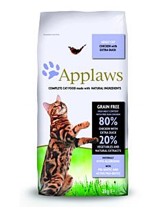 Kuivtoit Applaws  täiskasvanud kassidele kana- ja pardilihaga / 2kg