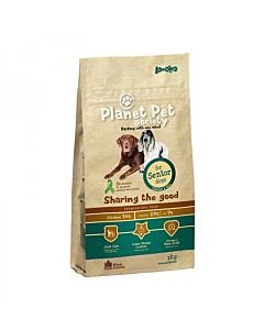 Planet Pet Society täistoit kana-riisi eakatele koertele / 3kg