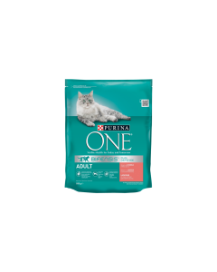 ONE Adult kuiv kassitoit, lõhe/täisteranisu / 800g