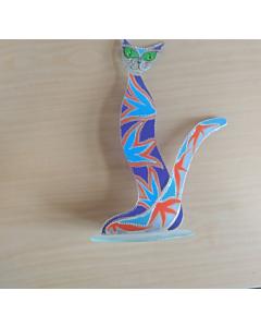 Kuju Kass / 13x25cm / klaas