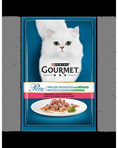 Gourmet Perle kassitoit forelli ja spinatiga / 6x85g