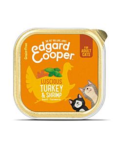 Edgard Cooper kassikonserv kalkun/krevetid / 85g