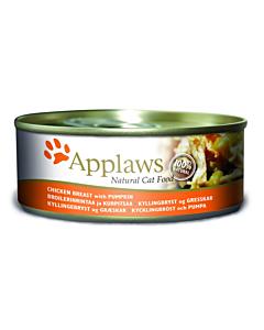 Applaws kassi konserv kana ja kõrvitsaga / 156g