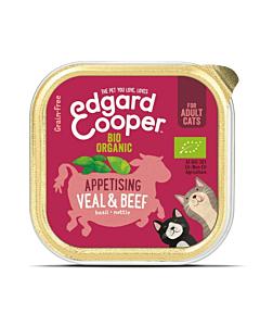 Edgard Cooper kassikonserv vasika- ja veiselihaga / 85g