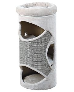 Kassimaja Gracia Cat Tower, 85cm / helehall