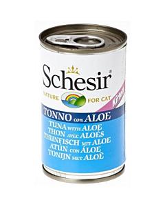 Schesir Cat kassipojakonserv tuunikala ja aaloega / 140g
