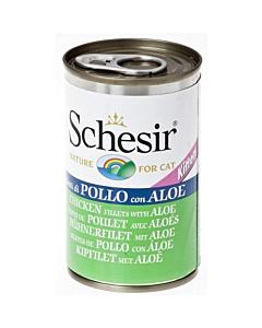 Schesir Cat kassipojakonserv kanafilee ja aaloega / 140g