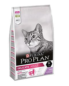 Pro Корм Pro Plan Delicate (Про План) для кошек с чувствительной кожей и пищеварением с индейкой и рисом 10kg