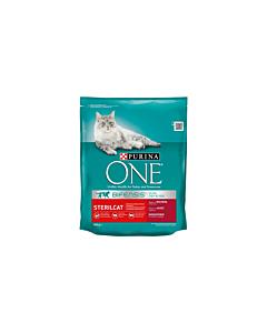 ONE DUAL Sterilcat kuiv kassitoit, steriliseeritud kassidele veiseliha/nisu / 800g