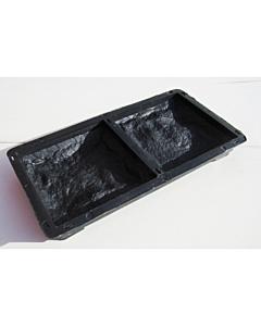 Plastvorm katteplaat Paekivi (2 poolikut) / 13x12,5x3cm