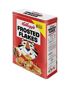 Metallpurk / XL / 3D Kellogg's Frosted Flakes Tony Tiger punane / LM