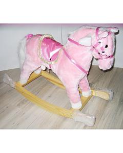 Kiikhobune roosa / 75x32x55cm
