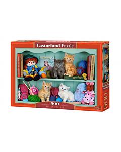 Pusle Castorland Kitten Shelves 47x33cm / 500tk / LM