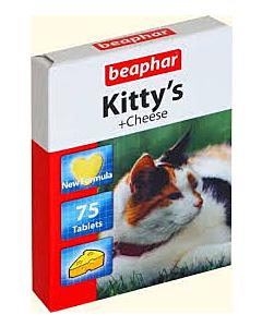 Beaphar Kittys Cheese maius / 75tbl