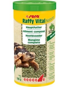 Kilpkonnade toit Sera Raffy Vital