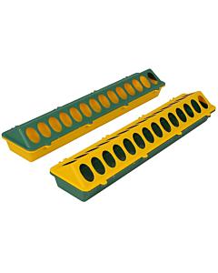 Kodulindude söötur/jootur piklik 50cm / roheline kollasega