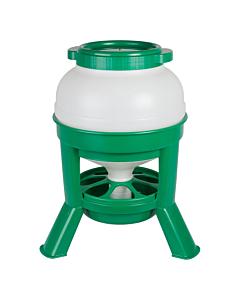 Kodulindude söötur plastikust / roheline / 30l