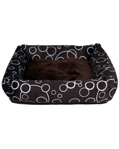 Koera magamiskoht MARINO pruun/ 46x46cm