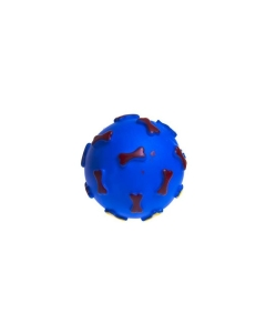 Padovan PD koera mänguasi OSSA GRANDE pall kontidega / 11cm