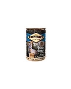 Carni Love  Salmon & Turkey koerakonserv / 400g