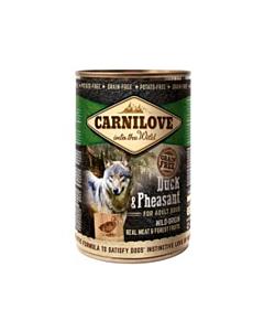 Carni Love Duck & Pheasant koerakonserv / 400g